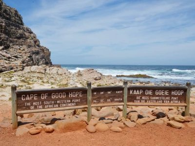 You can see the Cape of Good Hope on the Cape Point Private Tour
